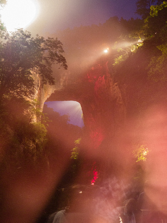 James Hengst Photography: Night &emdash; Natural Bridge 2011